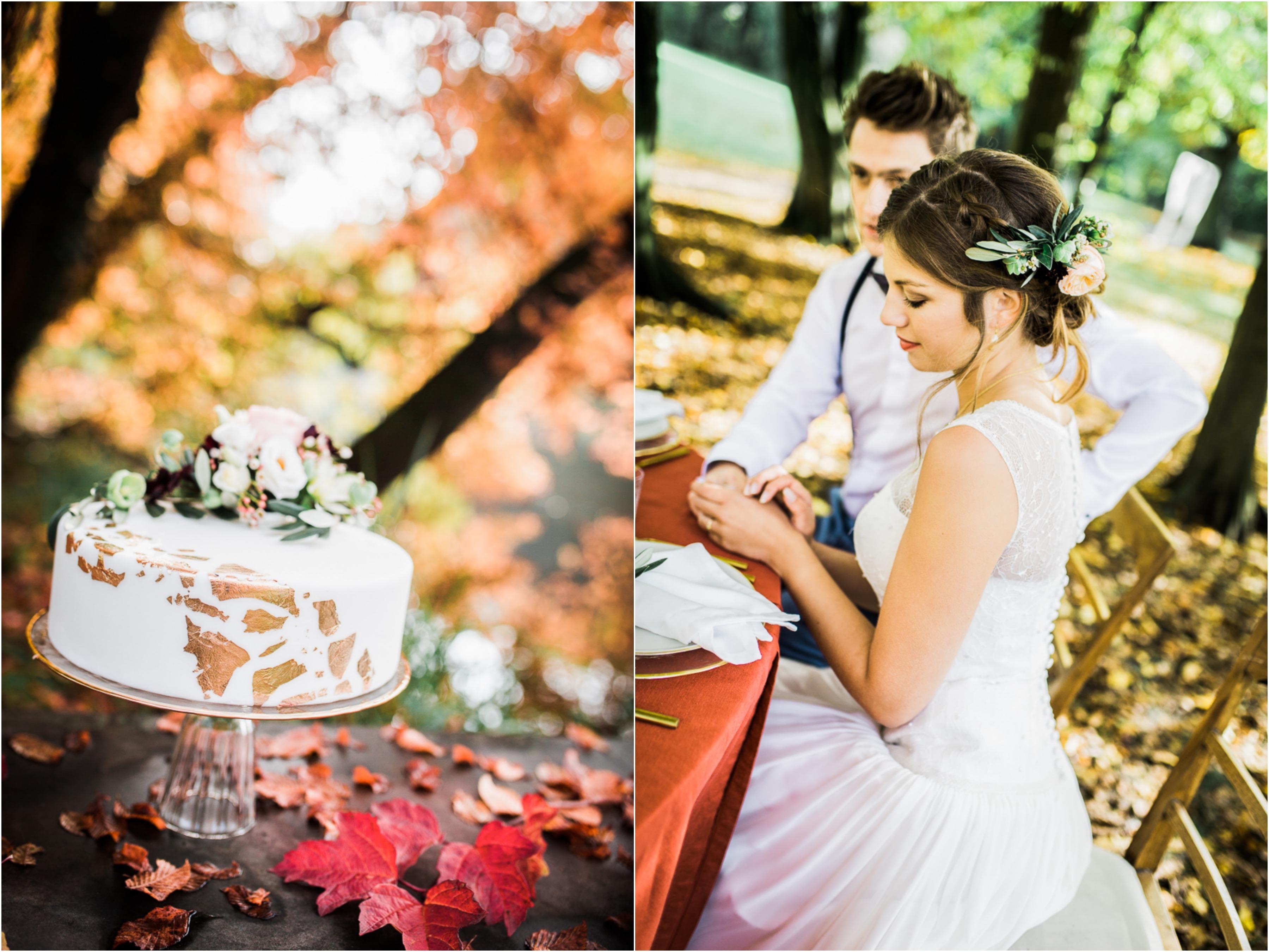 Styled Shoot Herbsthochzeit Brautkleid Fiona5