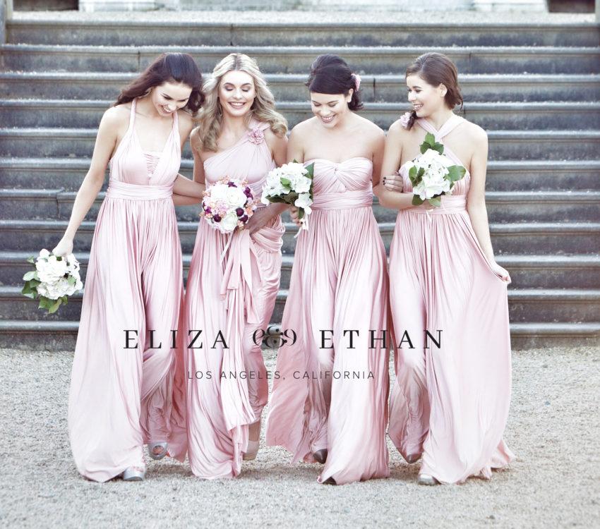 Brautjungfernkleider von Eliza & Ethan (multi wrap dress) - Brautraum