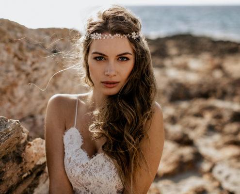 Haarschmuck Braut Headpiece La Chia Ida