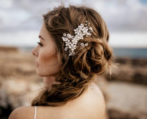 Haarschmuck Braut Headpiece La Chia Mara