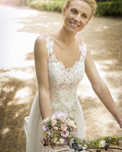 Vintage Brautkleid Kleemeier 12745 Clementina