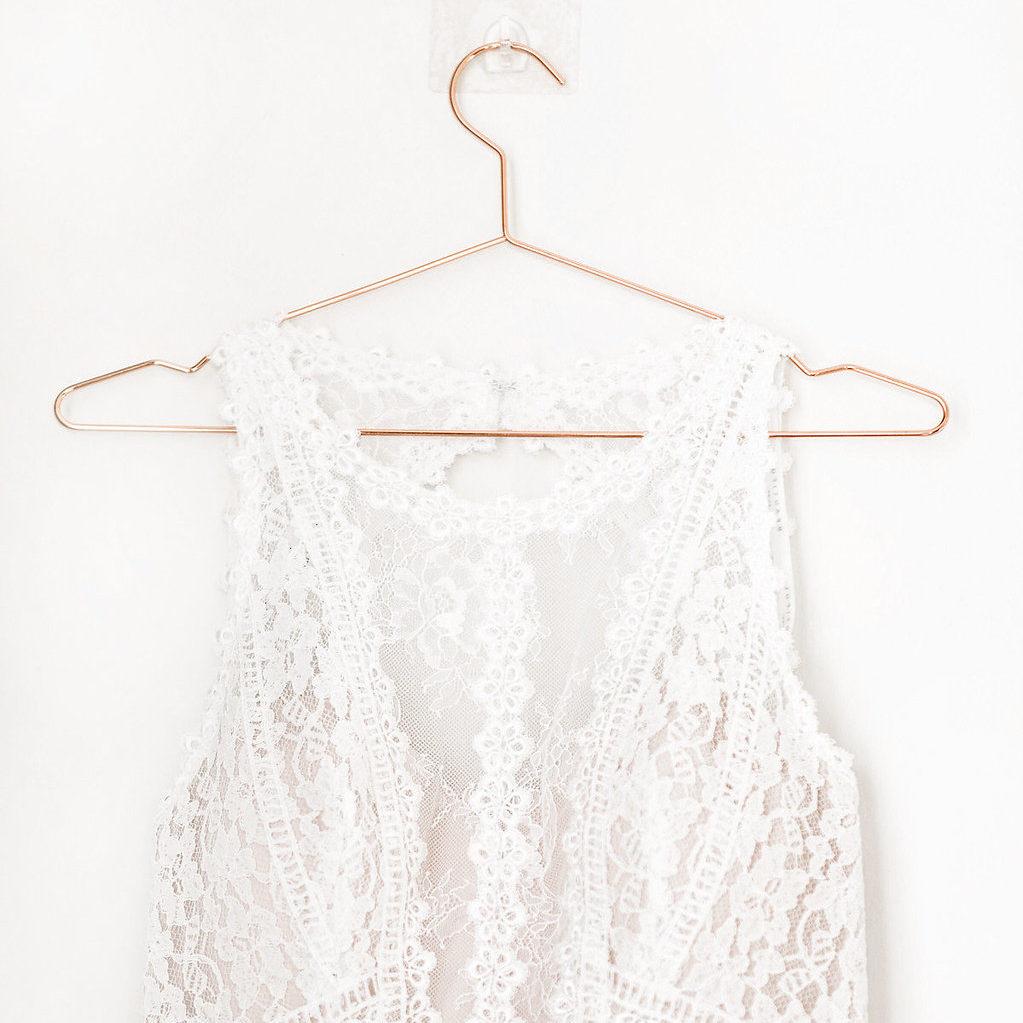 Brautkleid Enzaoni Spitze blush Vintagekleid FAQ Fragen