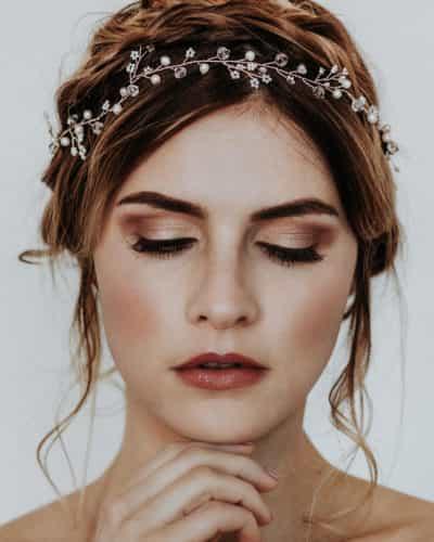 Vintage Braut Makeup