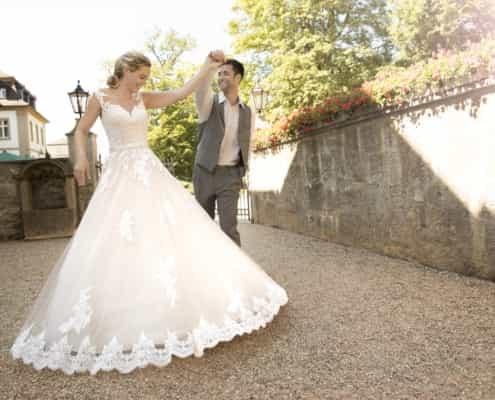 Prinzessinnen Brautkleid Kleemeier Ballkleid