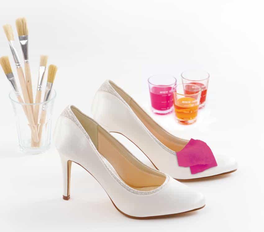 Elsa Coloured Shoes Brautschuhe einfärben Colour Studio