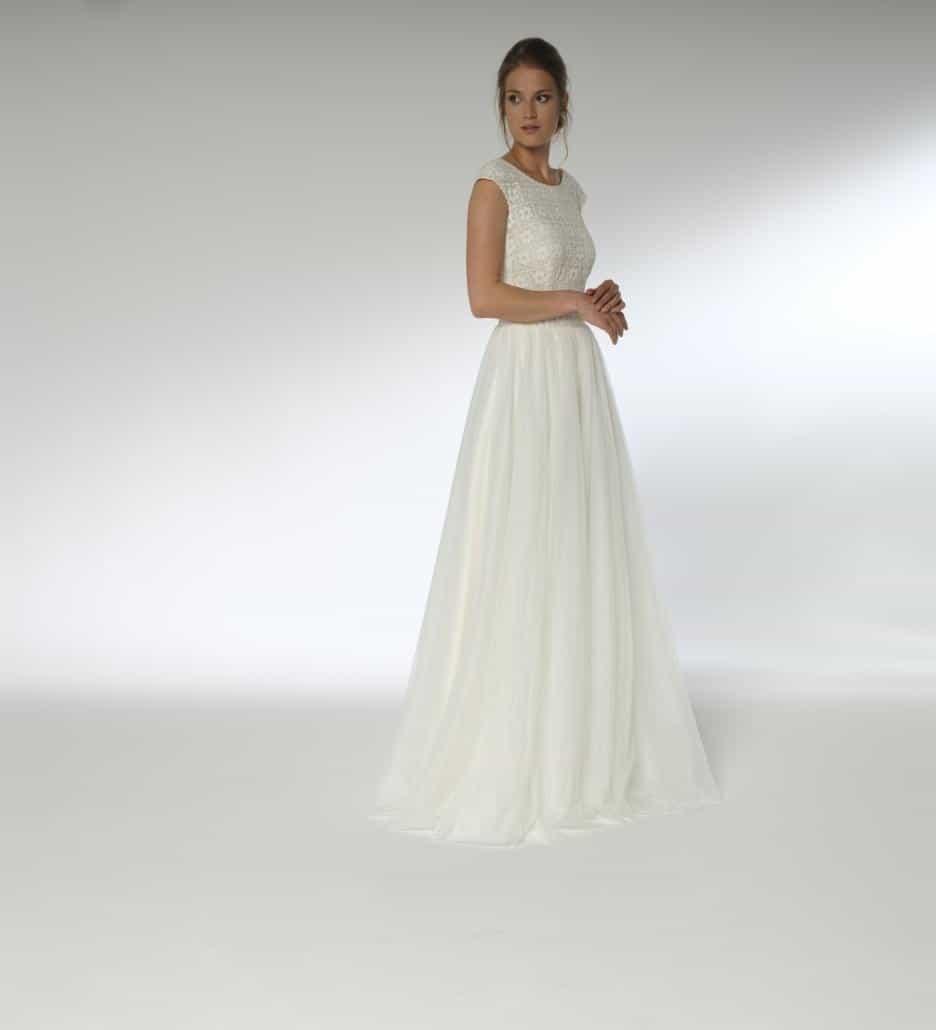 Lilurose Brautkleid, Vintagekleid mit Spitze