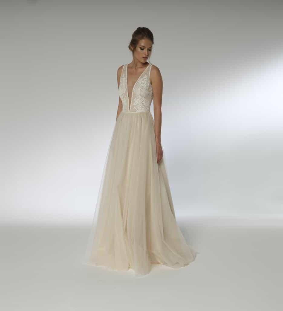 Lilurose Vintagekleid, Brautkleid mit Spitze