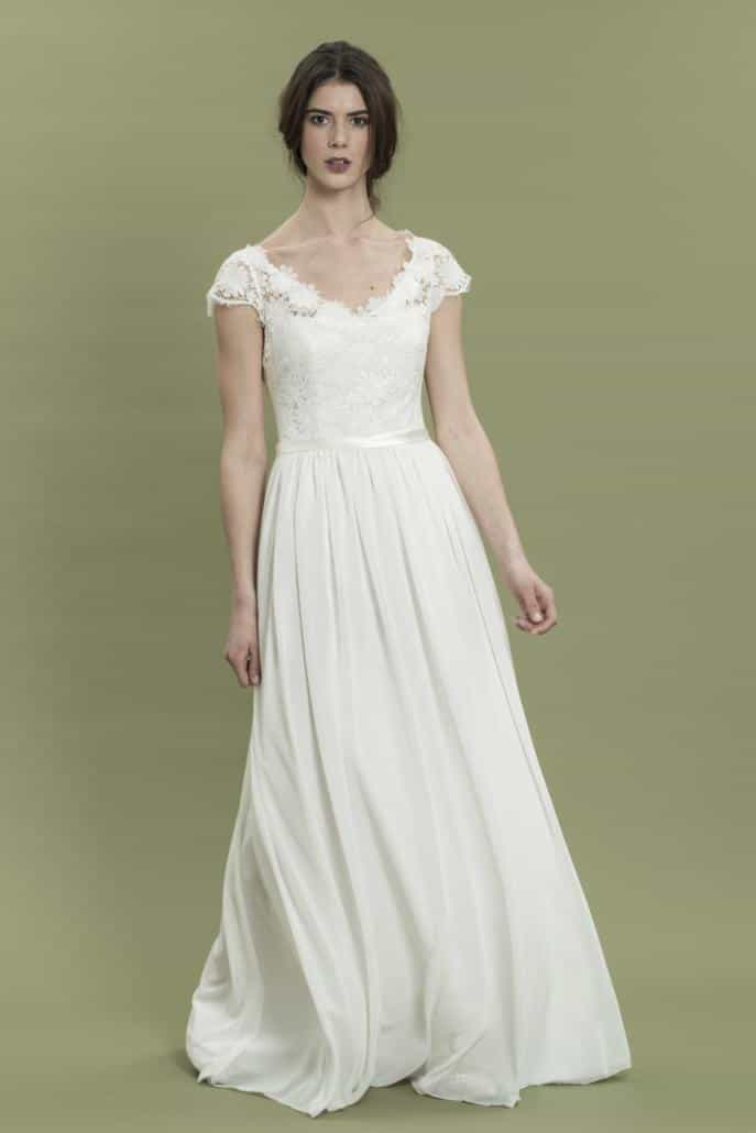 therese und luise Brautkleid Vintagekleid Karla