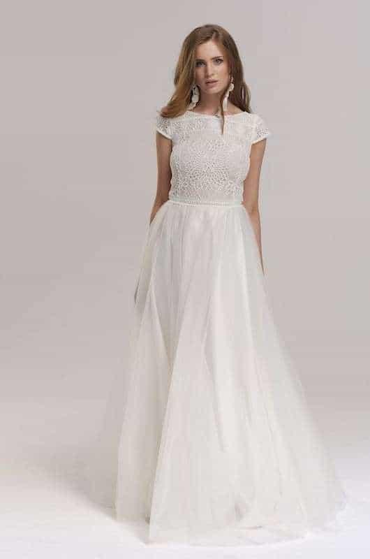 Vintage Brautkleider Boho