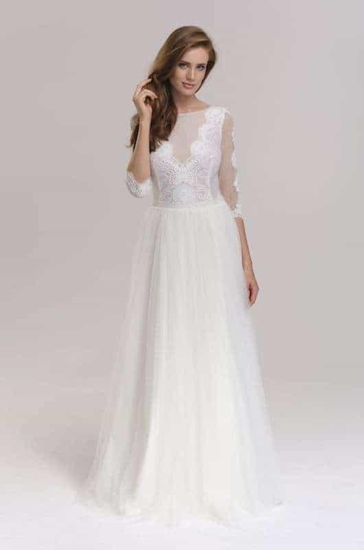 Vintage Brautkleider Spitze